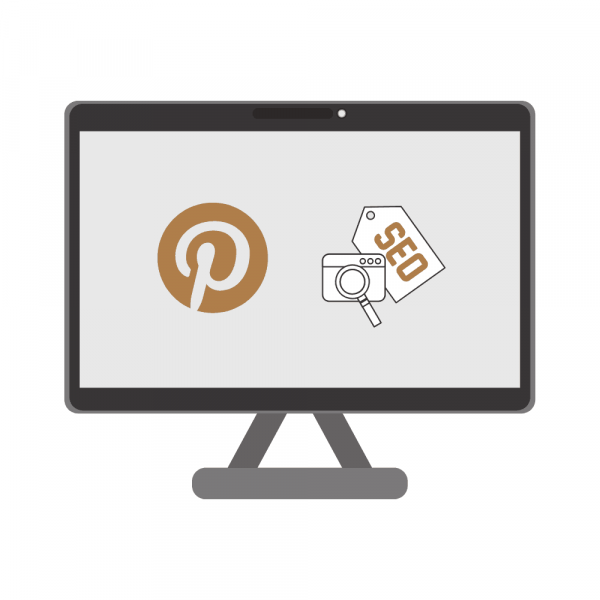 pinterest logo and seo tag