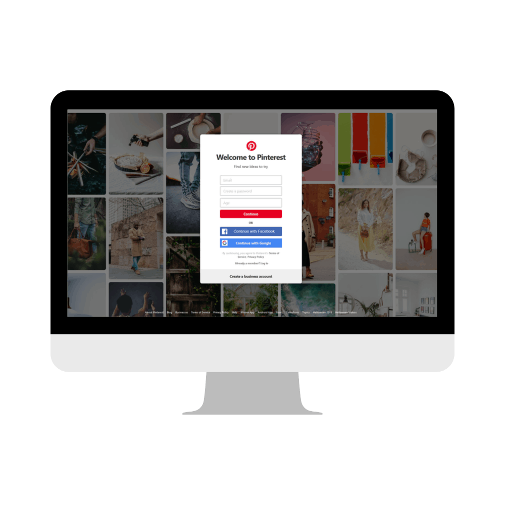 pinterest - Past Pinterest Clients