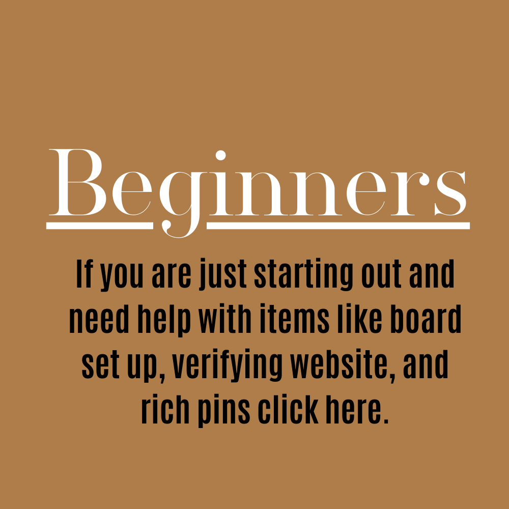 Beginners - Start Here