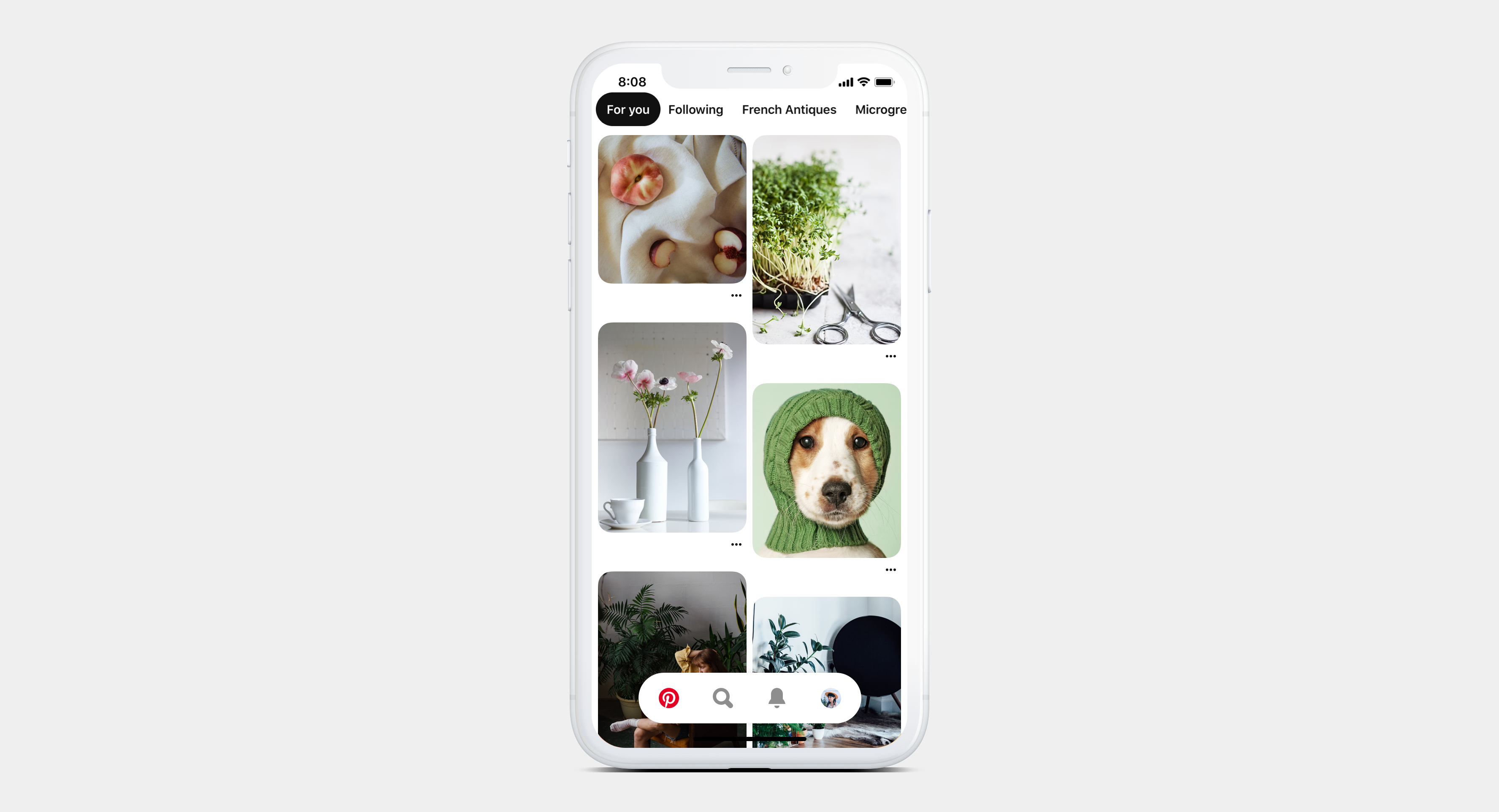 P100 trends in home feed - Pinning to Pinterest