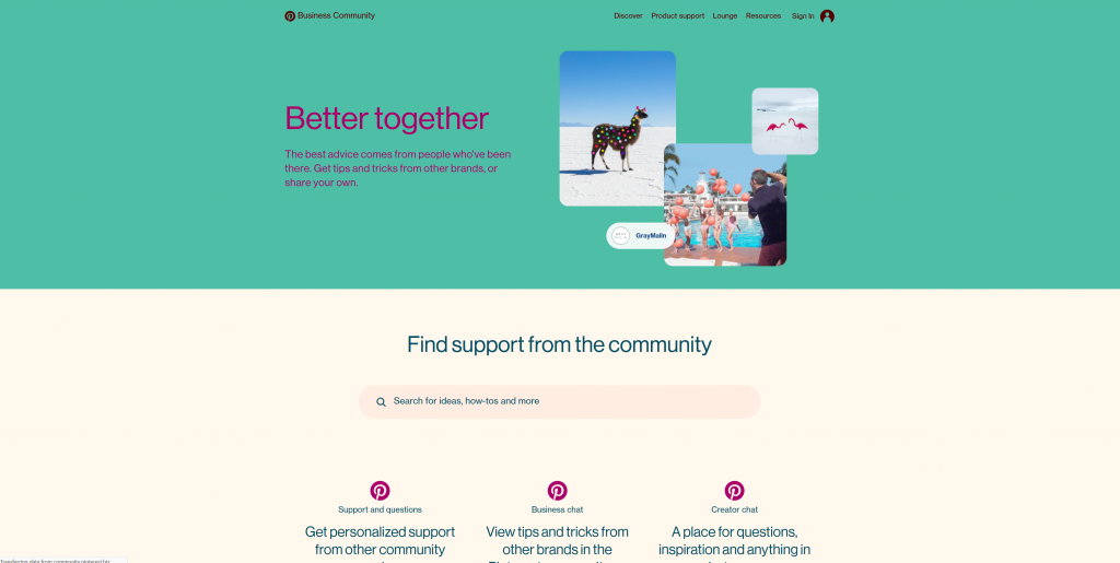pinterest community 1024x515 - Get the Most Out of the Pinterest Community