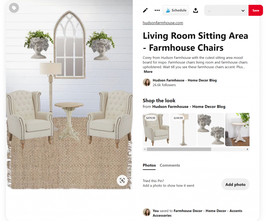 pinterest product tagging 1024x848 - How to Tag Products on Pinterest with Clickable URLs