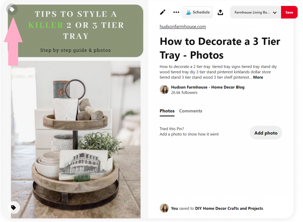 product tagging 1024x750 - How to Tag Products on Pinterest with Clickable URLs
