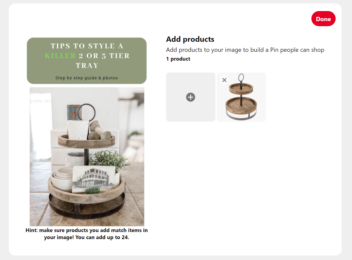 tag product url photo - How to Tag Products on Pinterest with Clickable URLs - Collection Pins