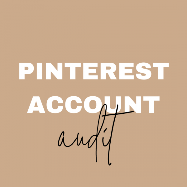 pinterest marketing audit